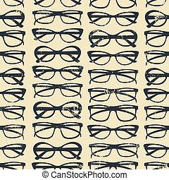 fondo, occhiali