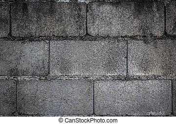 fondo, parete, solido, mattone concreto