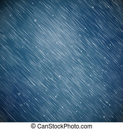 fondo, pioggia