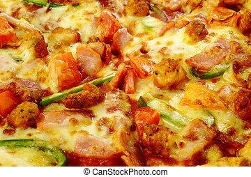 fondo, pizza