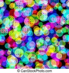fondo., seamless, neon, astratto