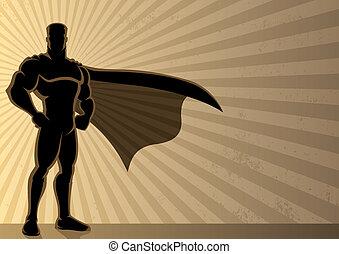 fondo, superhero