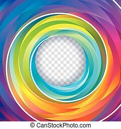 fondo, turbine, colorito