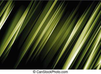 fondo, verde, vettore, linea, astratto