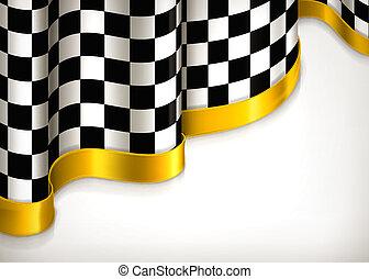fondo, vettore, checkered, invito