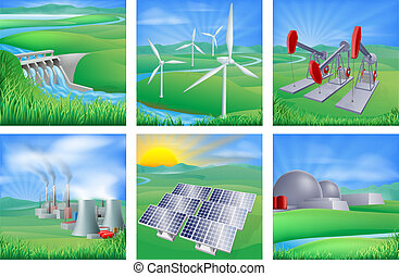 fonti, energia, potere