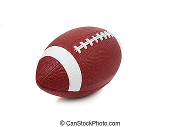 football americano, bianco