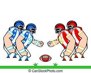football americano, squadre