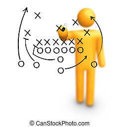 football americano, strategia
