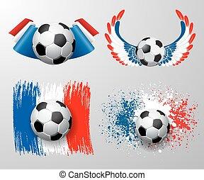 football, campionato, francia