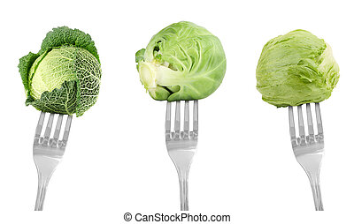 forche, verdura