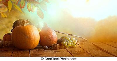 foresta autunno, foglie