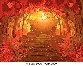 foresta, magia