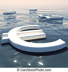 forex, scambio, soldi, lontano, valute, andare, galleggiante, esposizione, euro
