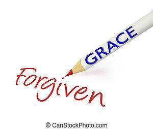 forgiven, grazia