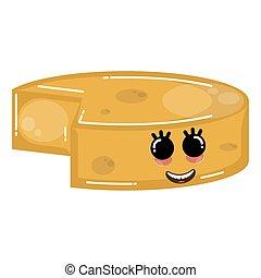 formaggio cheddar, felice