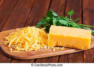 formaggio, cheddar
