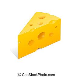 formaggio, illustrazione