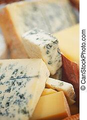 formaggio, vario, composizione, tipi