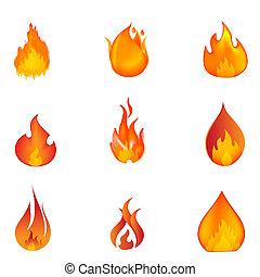 forme, fuoco