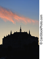 fortezza, sighisoara, saxon, vista, medievale