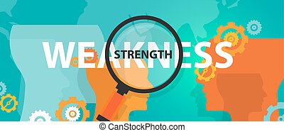 forza, affari, pensare, debolezza, analisi, swot