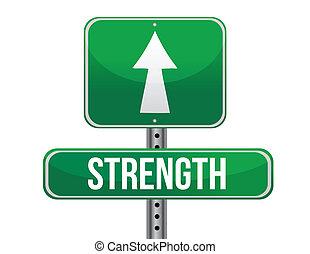 forza, disegno, strada, illustrazione, segno