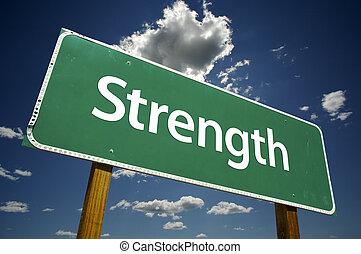 forza, segno strada
