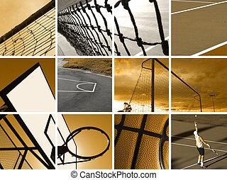 fotomontaggio, sport