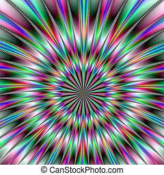 fractal, esplosione