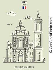 france., cattedrale, reparata, punto di riferimento, santo, icona, bello