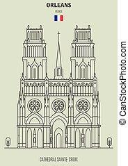 france., sainte-croix, cattedrale, orleans, punto di riferimento, icona