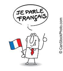 francese, parlare