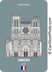francia, amiens, amiens, cattedrale