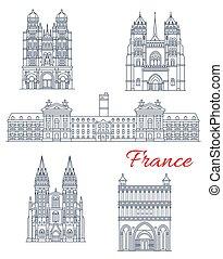 francia, punto di riferimento, viaggiare, icona, architettura