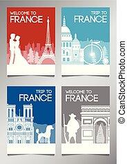 francia, segno confine famoso