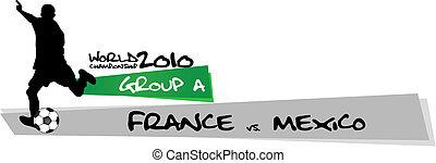 francia, vs, messico