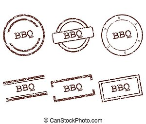 francobolli, bbq