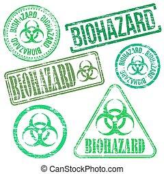 francobolli, biohazard