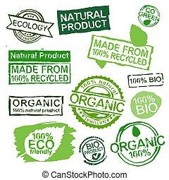 francobolli, ecologia, set