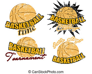 francobolli, pallacanestro