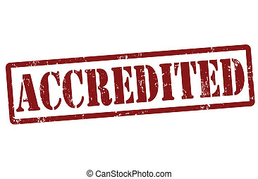 francobollo, accredited