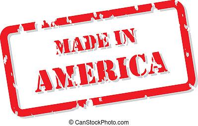 francobollo, america