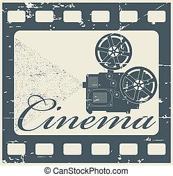 francobollo, cinema