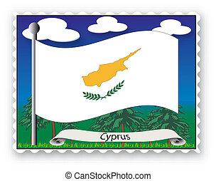 francobollo, cipro
