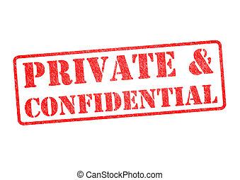 francobollo, &confidential, privato