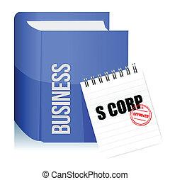 francobollo, corporazione, legale, s, documento, approvato