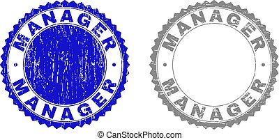 francobollo, direttore, textured, grunge, sigilli