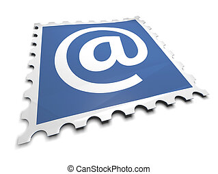 francobollo, email