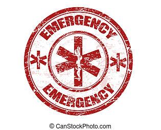 francobollo, emergenza